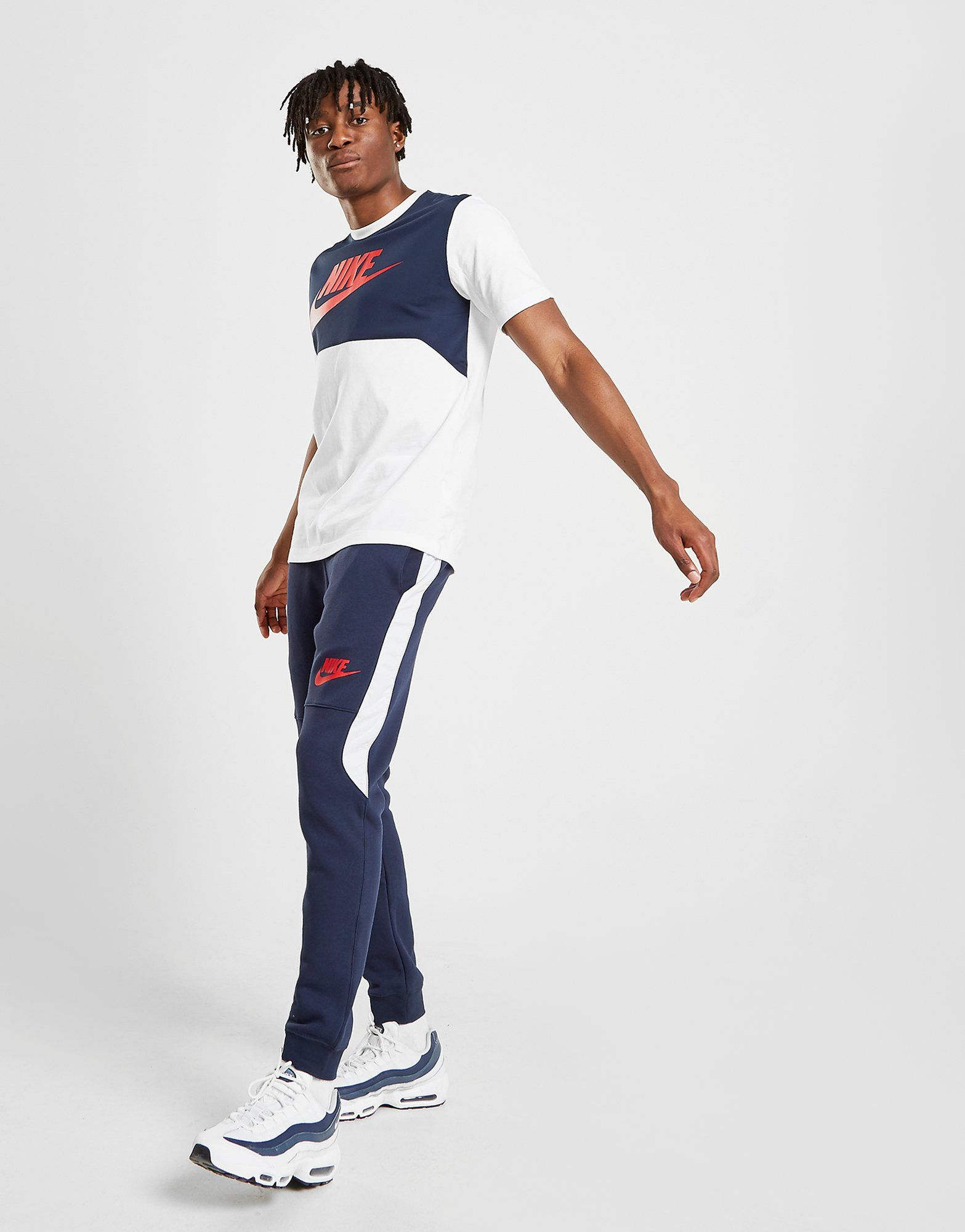 Nike Pantalon de survêtement Polaire Hybrid