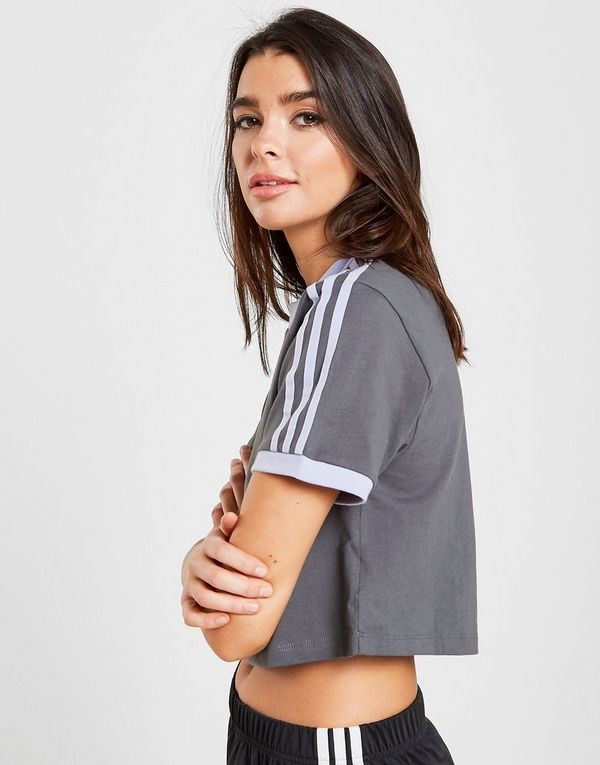 ebc2d8b86f0 adidas Originals T-shirt Court California 3-Stripes Femme