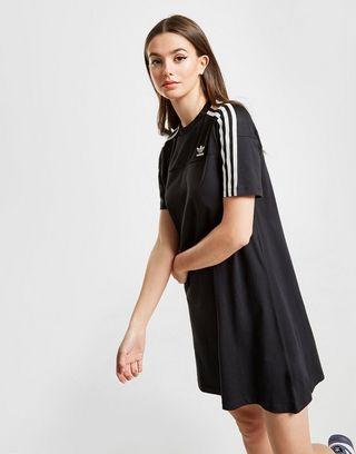 styles de mode produit chaud chaussures élégantes adidas Originals Robe T-shirt 3-Stripes Mesh Femme   JD Sports