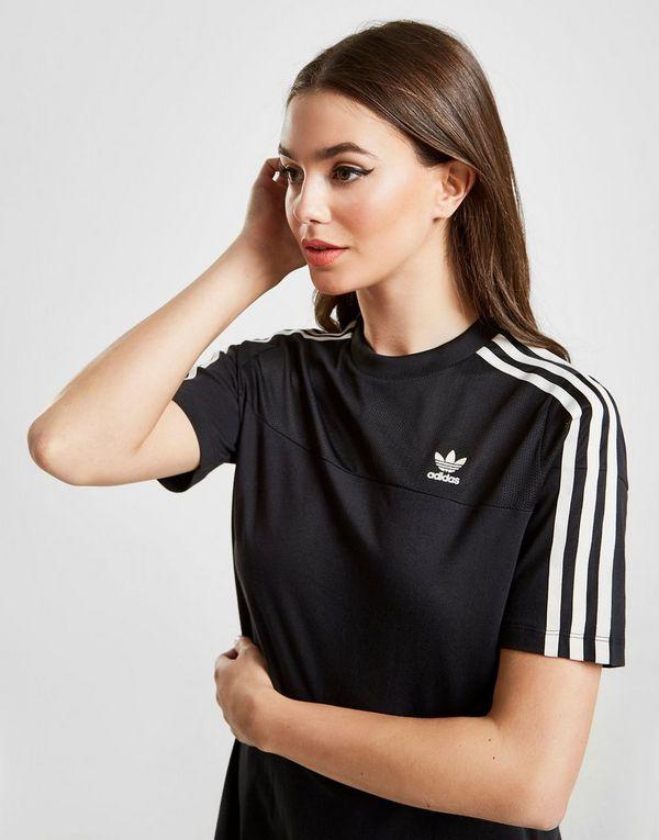 40ddb7a874 adidas Originals 3-Stripes Mesh T-Shirt Dress | JD Sports Ireland