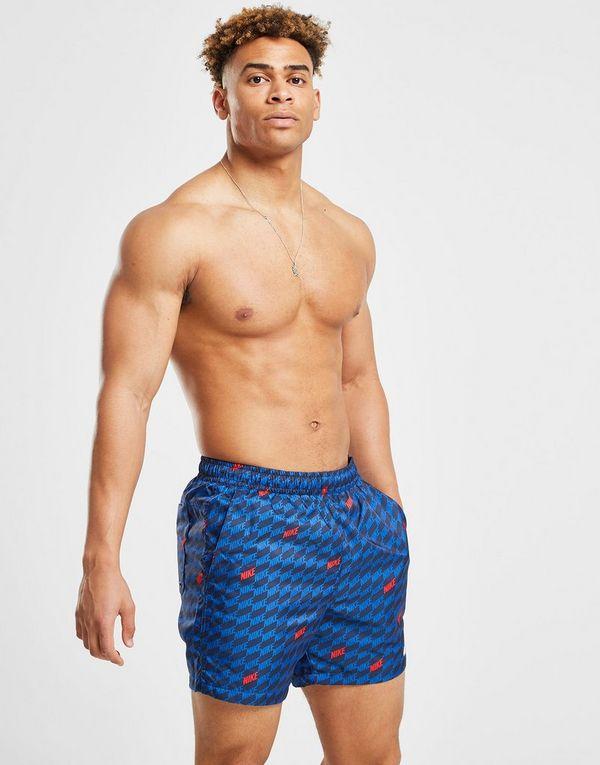 eef54eedbf5 Nike Hybrid All Over Print Swim Shorts Heren | JD Sports