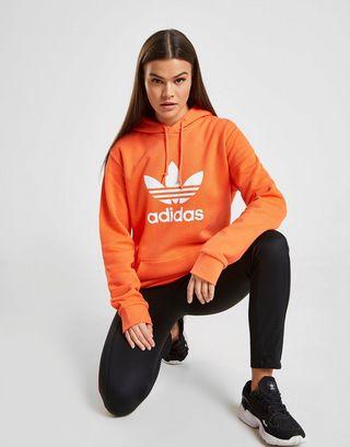 adidas Originals Sweat à capuche Boyfriend Trèfle Femme | JD ...