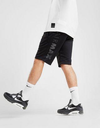 nike air max poly shorts noir hommes