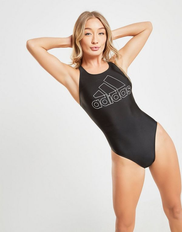 adidas Logo Swimsuit Dames
