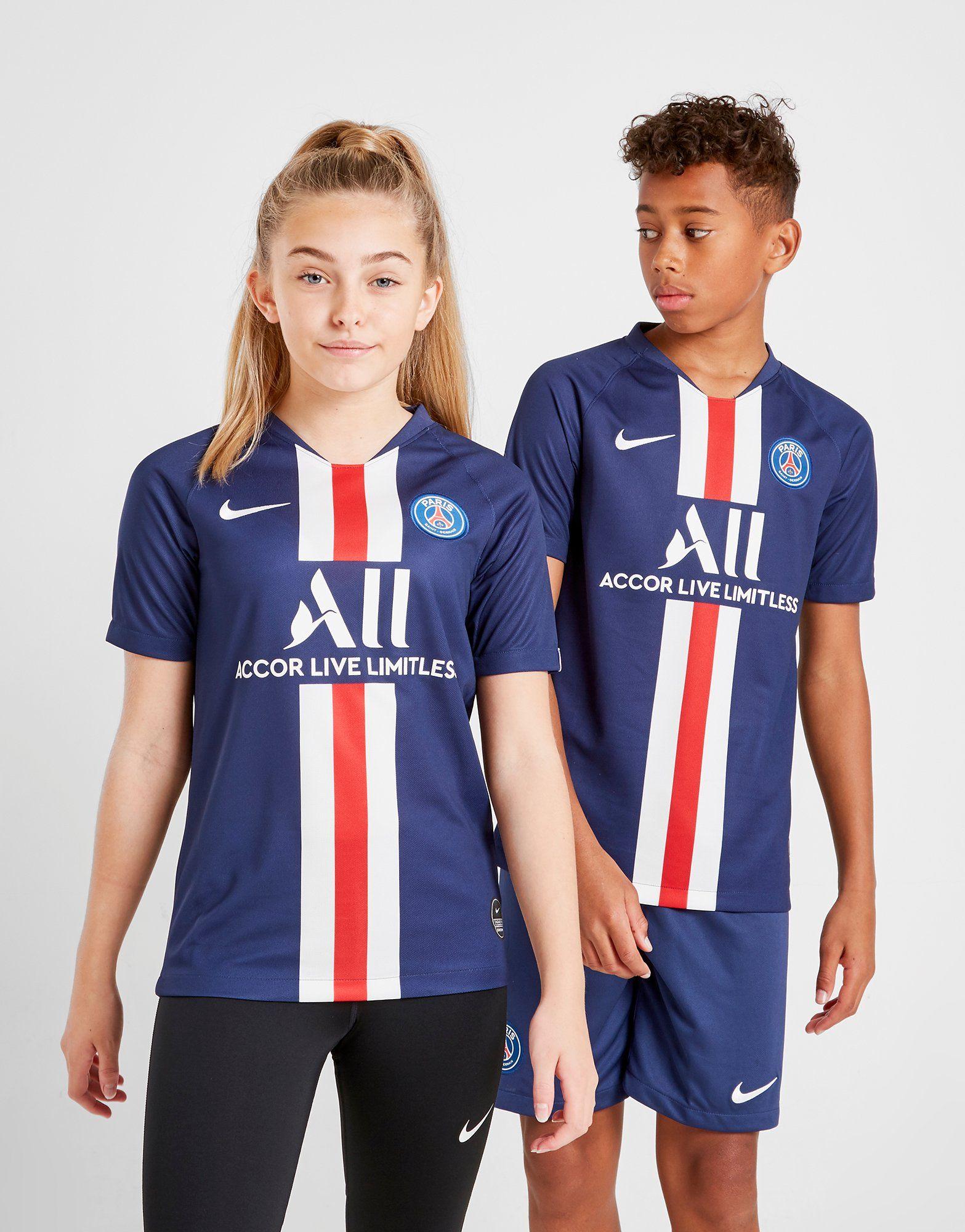 Nike Paris Saint Germain 201920 Home Shirt Junior | JD Sports