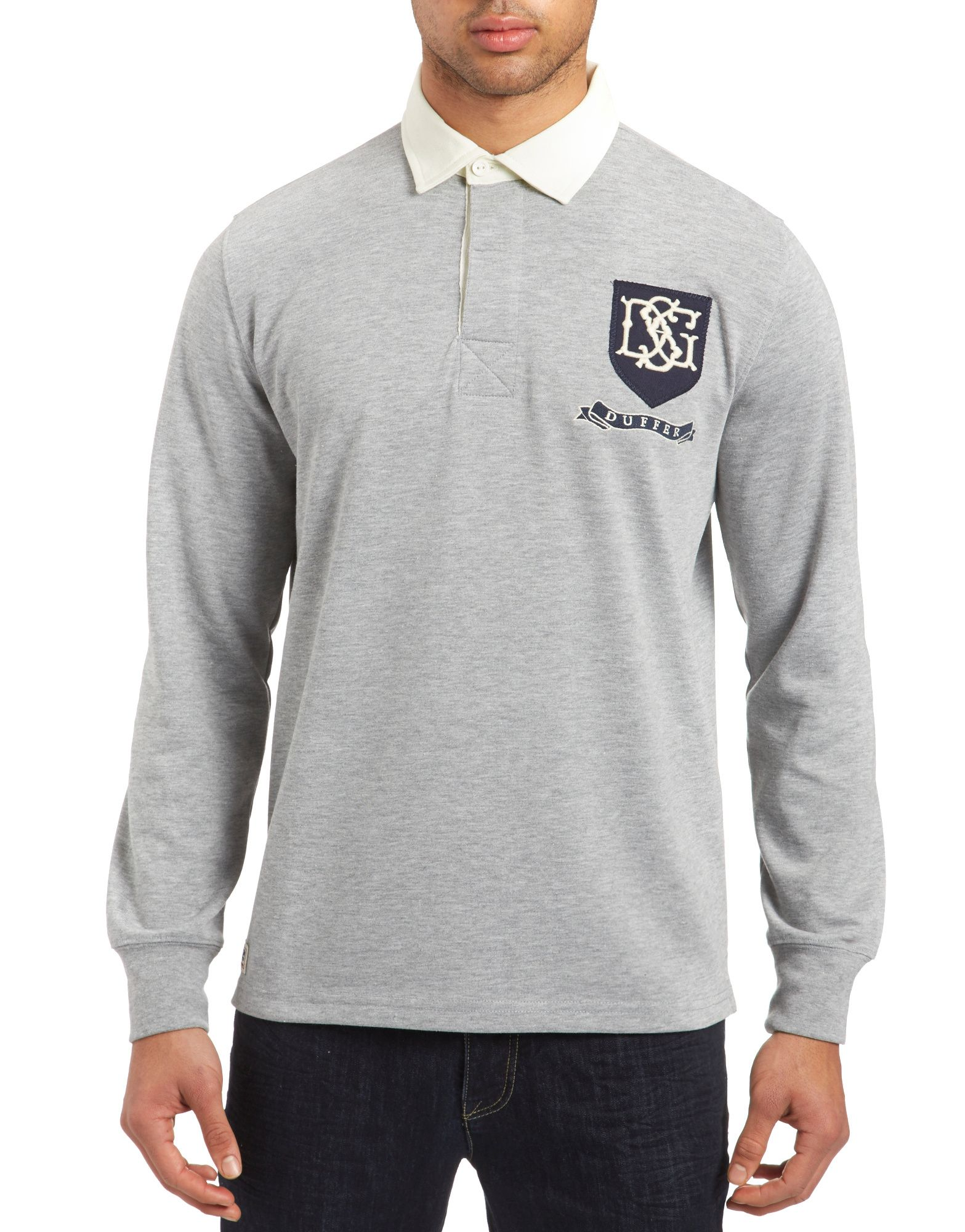 Duffer of St George Ashes Rugby Shirt