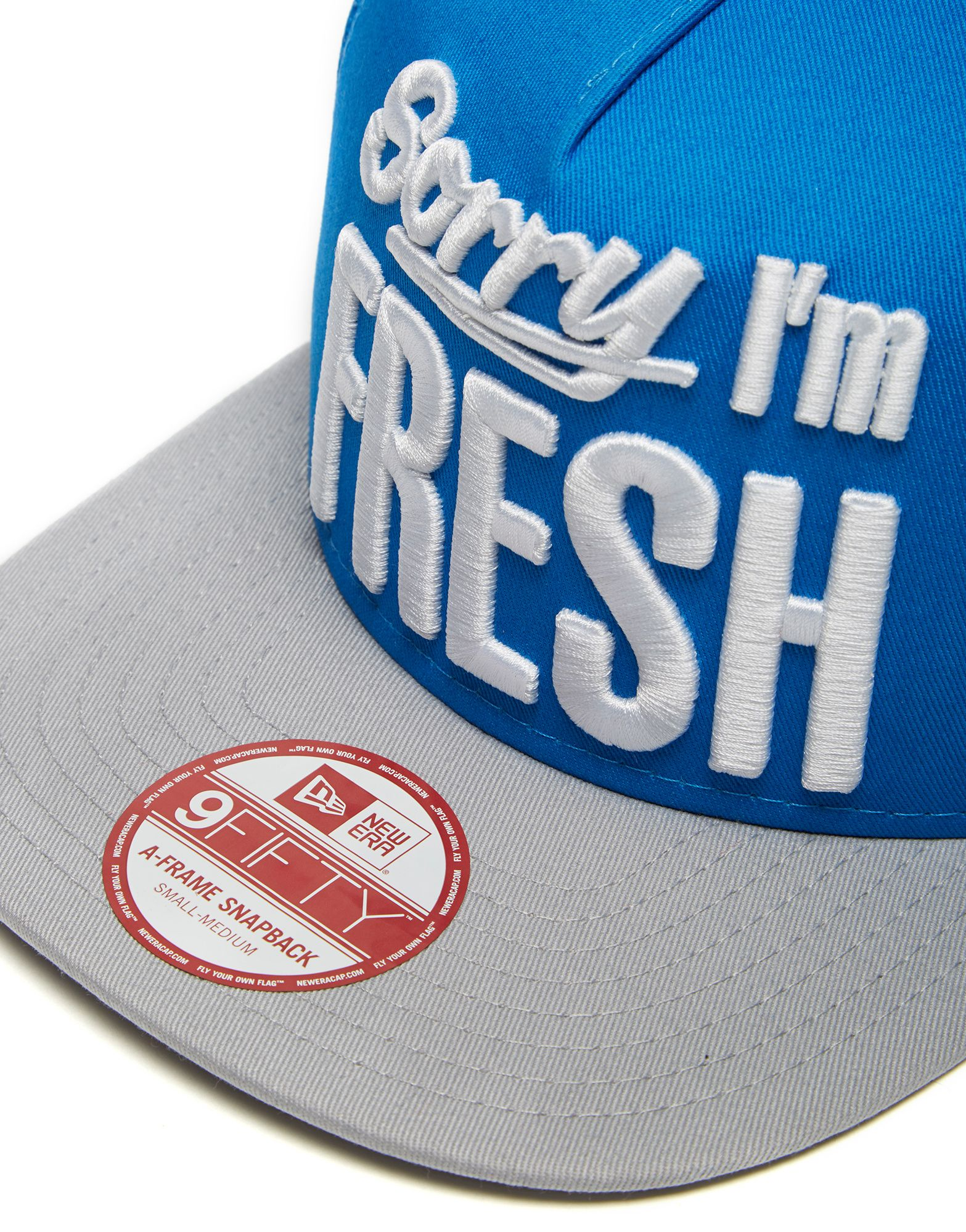 New Era Sorry Im Fresh Snapback