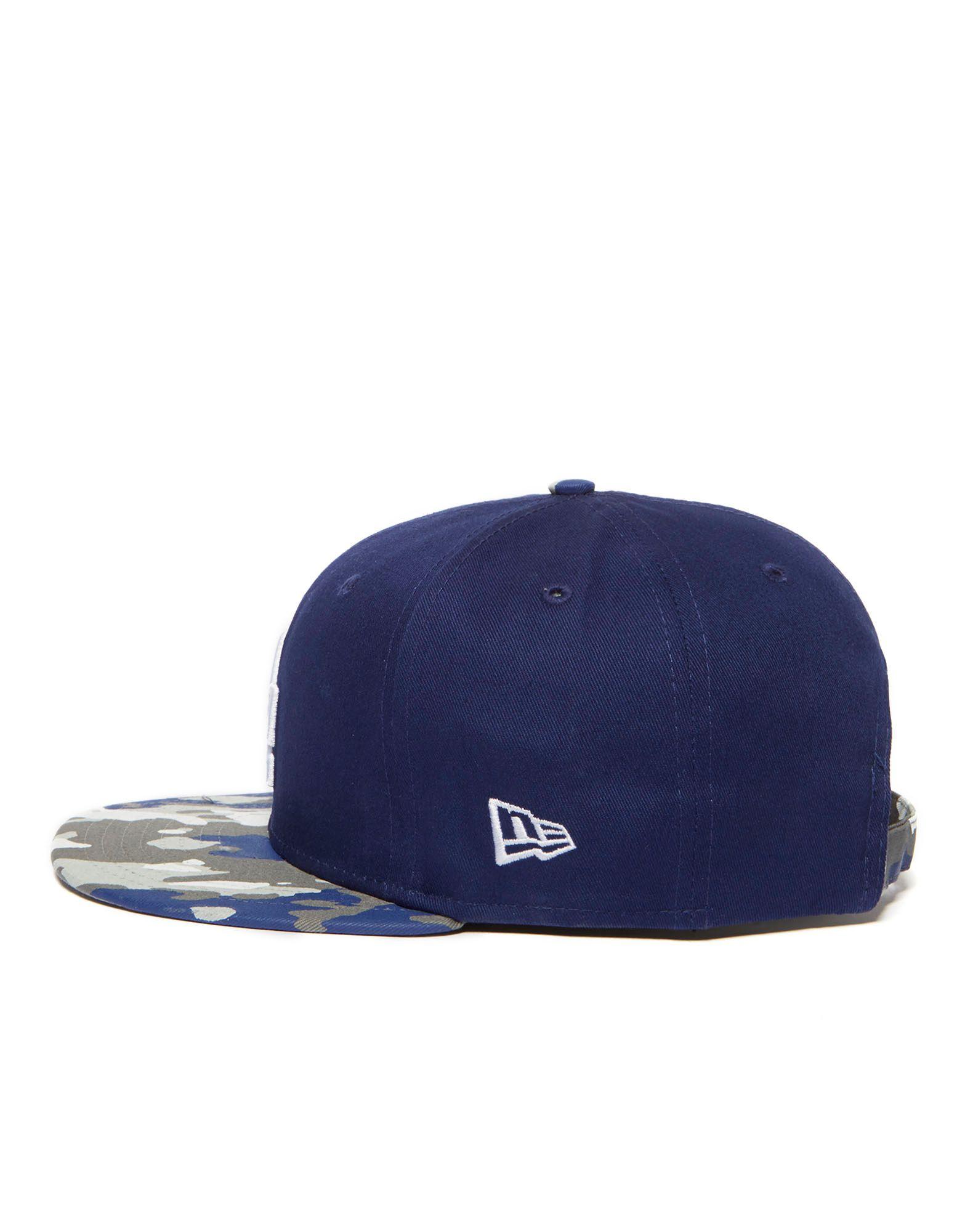 New Era MLB LA Dodgers Camo Break 9FIFTY Snapback Cap