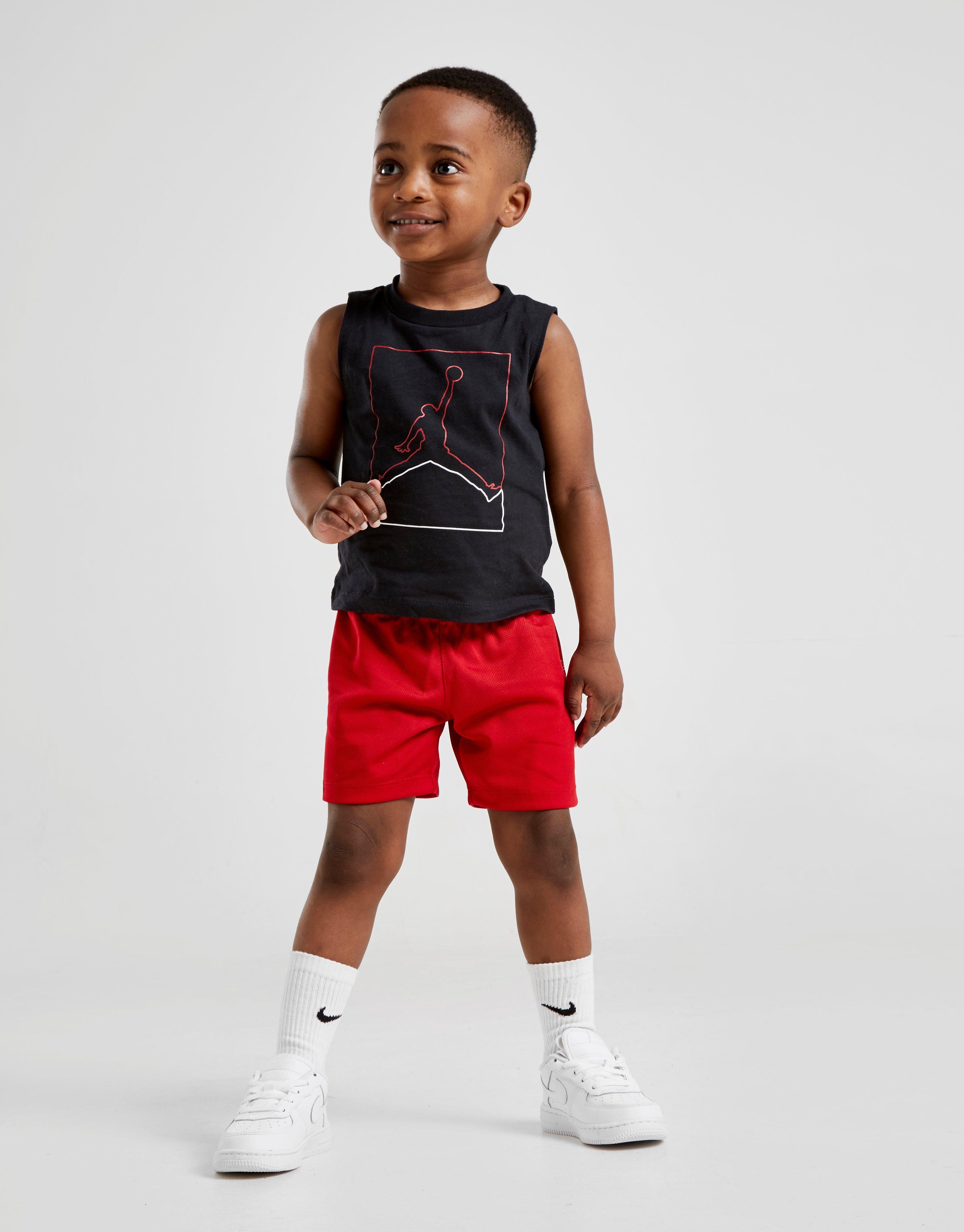 5668d7dcec3 Jordan Light Up Tank Top Short Set Infant