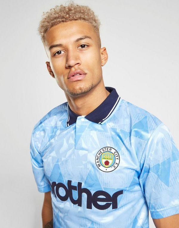 Score Draw Manchester City FC '89 Home Shirt Heren