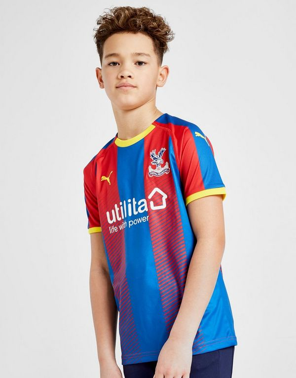 PUMA Crystal Palace FC 2018 Home Shirt Junior  55e56b4a3
