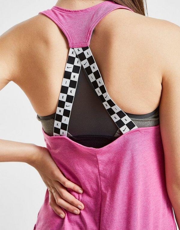 Nike Training High Neck Swoosh Tank Top Dames