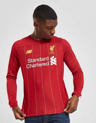 New Balance Liverpool FC 2019 Home Long Sleeve Shirt Herren