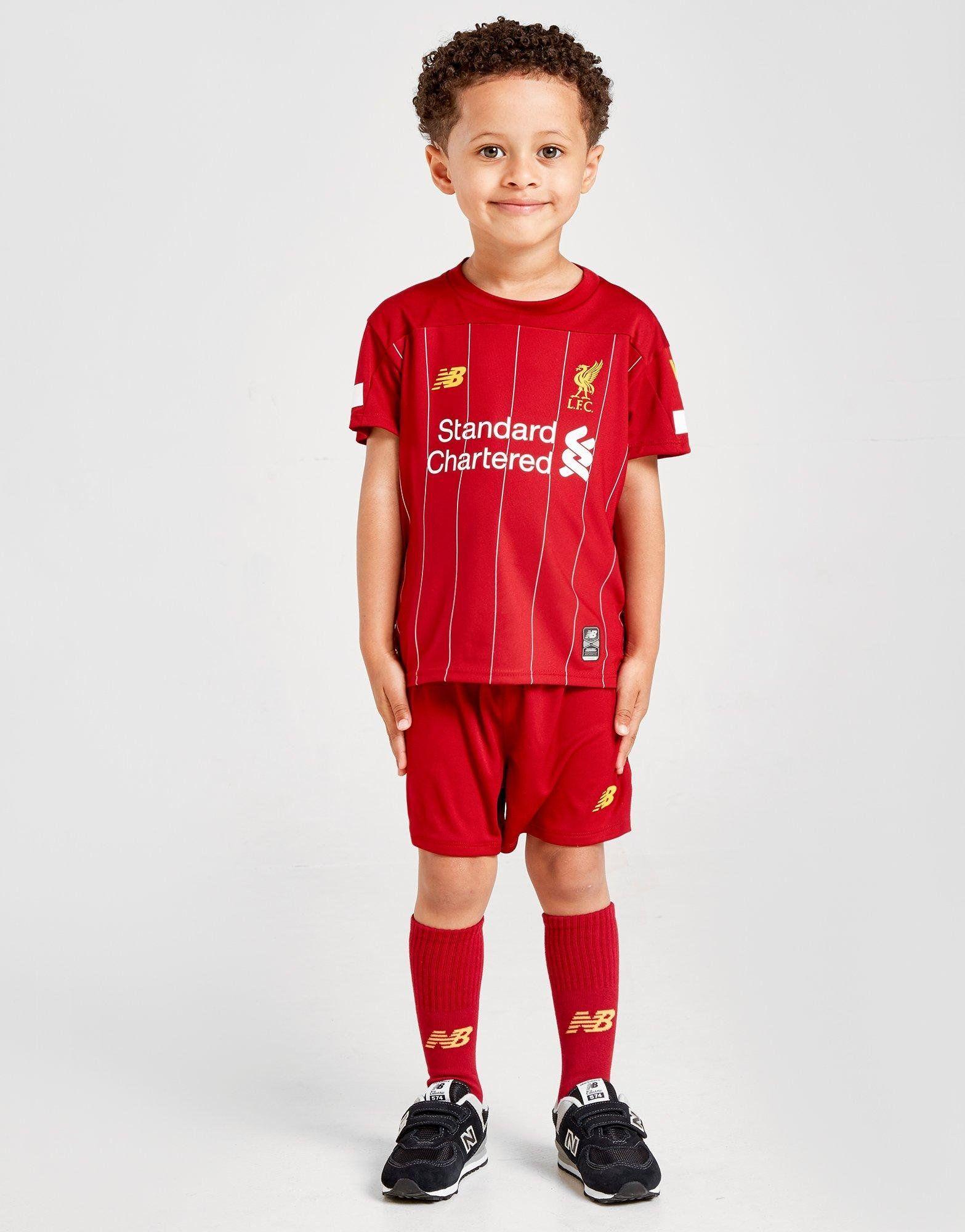 New Balance Kit Domicile Liverpool FC 2019 Enfant