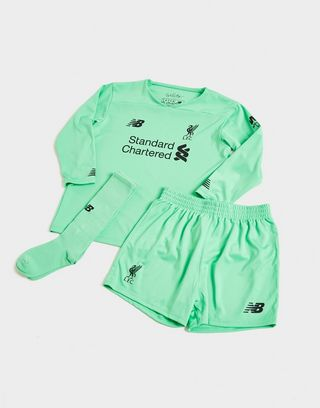 newest 6f027 a40b5 New Balance Liverpool FC 2019/20 Goalkeeper Away Kit Children