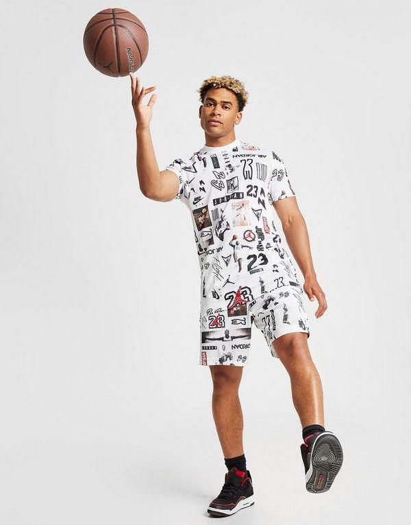 1731f844f87 Jordan All Over Print Mesh T-Shirt | JD Sports Ireland