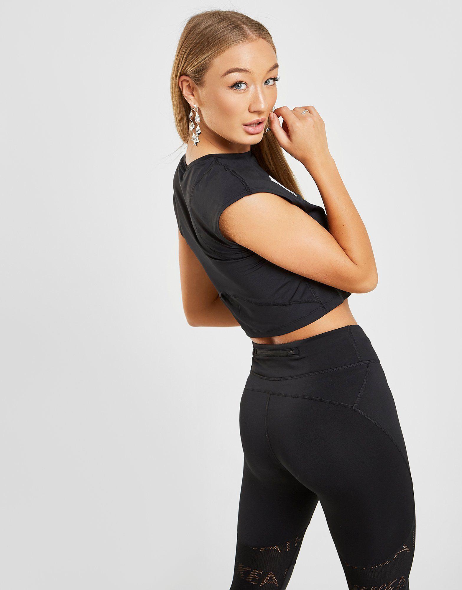 Nike Running Air Crop T-Shirt Damen