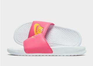 multiple colors best sneakers on feet images of Nike Benassi Just Do It Slides Damen | JD Sports