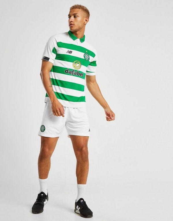 New Balance Celtic FC 2019 Home Shorts Heren