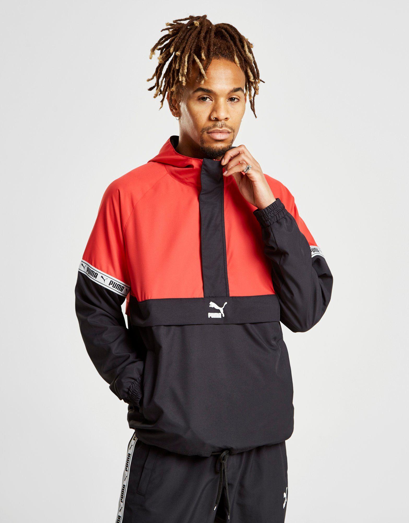PUMA XTG Woven 1/4 Zip Jacket