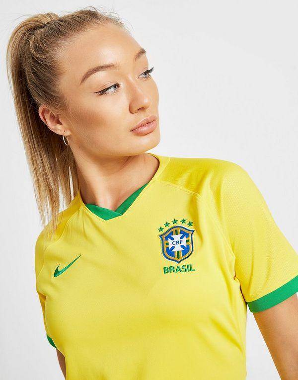 Nike Maillot Domicile Brazil WWC 2019 Femme