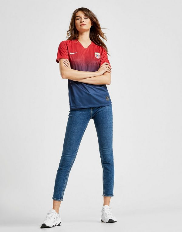 Nike Norway 2019 Home Shirt Dames