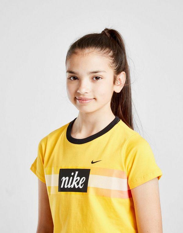 Nike Girls' Futura Crop T-Shirt Junior