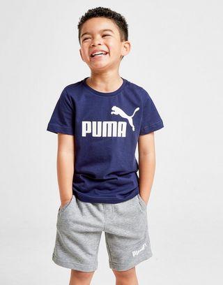 PUMA No.1 T-Shirt/Shorts Set Children