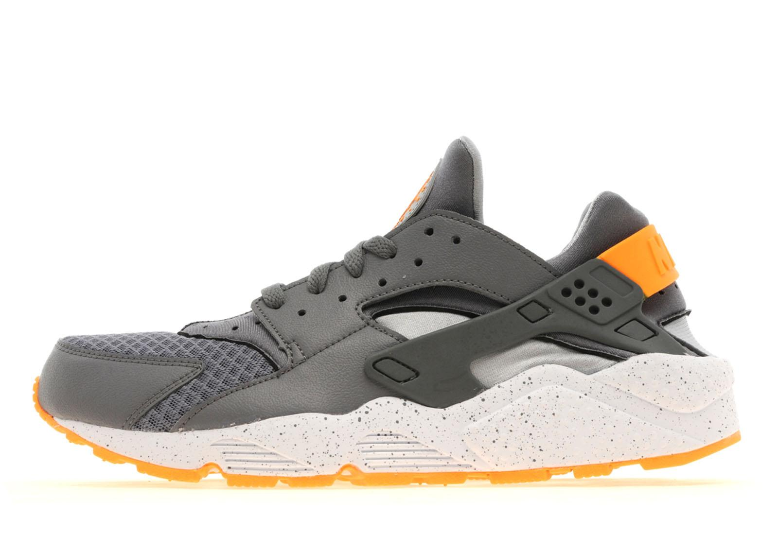 Huarache Nike Grey Orange