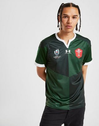 competitive price 1414f 344d7 Under Armour Wales RU Rugby World Cup 2019 Replica Shirt ...