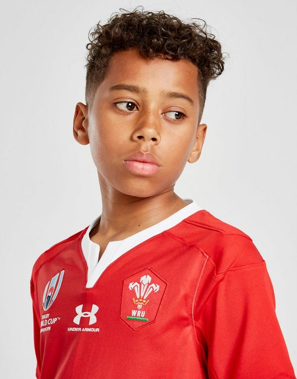 Under Armour Wales RU Rugby World Cup 2019 Replica Shirt Junior