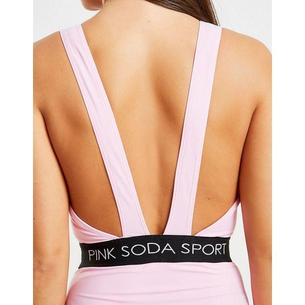 Pink Soda Sport Elasticated Waist Swimsuit Dames