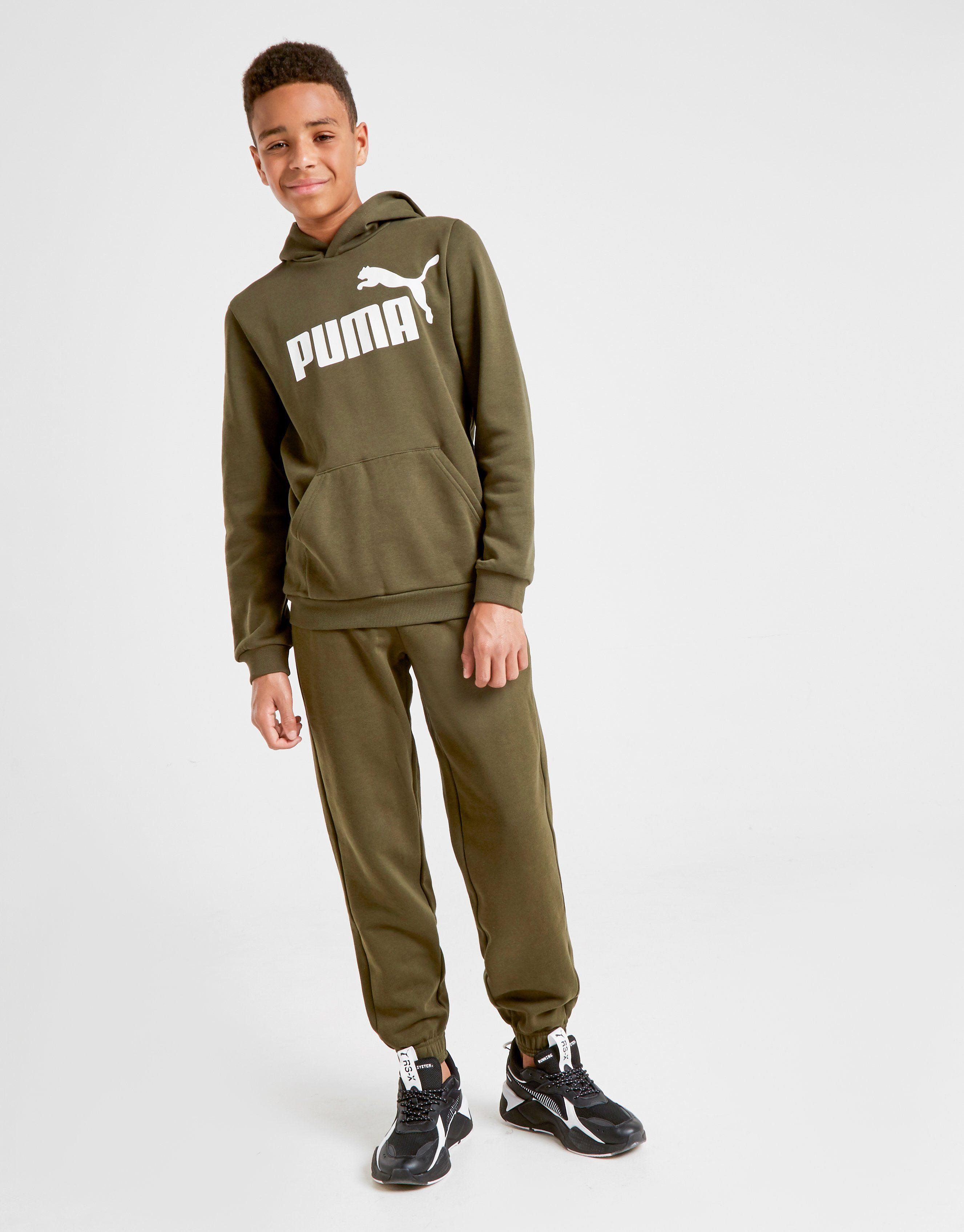PUMA Sweat à capuche No1 Logo Junior