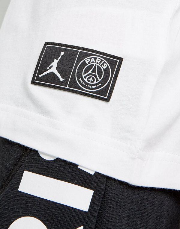 a07273fda598 Jordan x Paris Saint Germain Jock Tag T-Shirt Junior