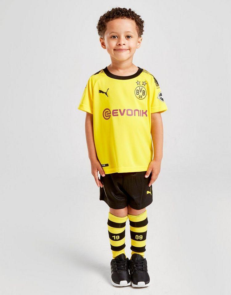 PUMA Borussia Dortmund 19/20 Mini Home Kit Kinderen