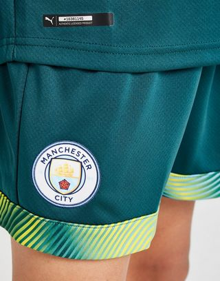 PUMA Manchester City 19/20 Goalkeeper Home Shorts Jnr