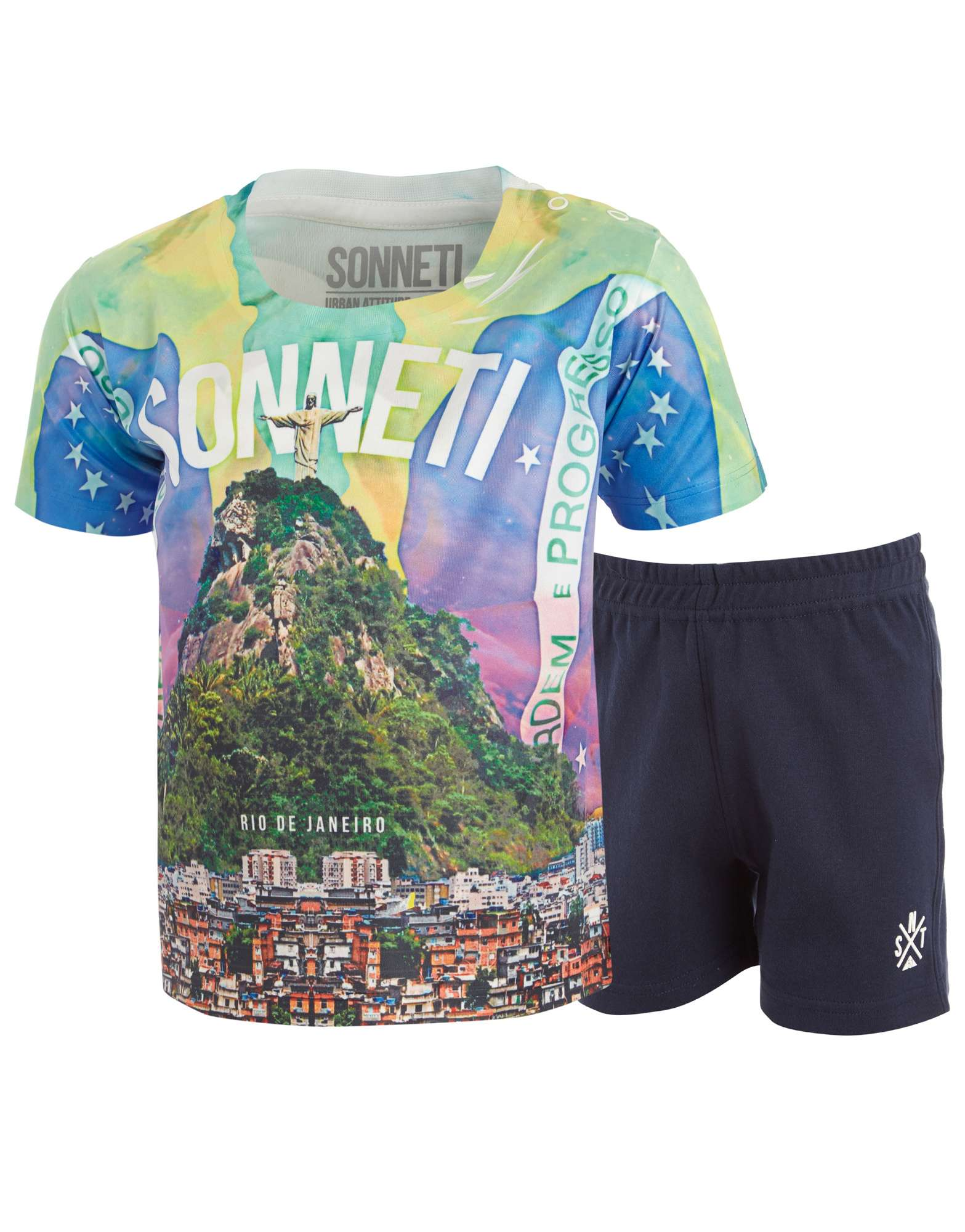 Sonneti Rio T-Shirt Shorts Set Infants
