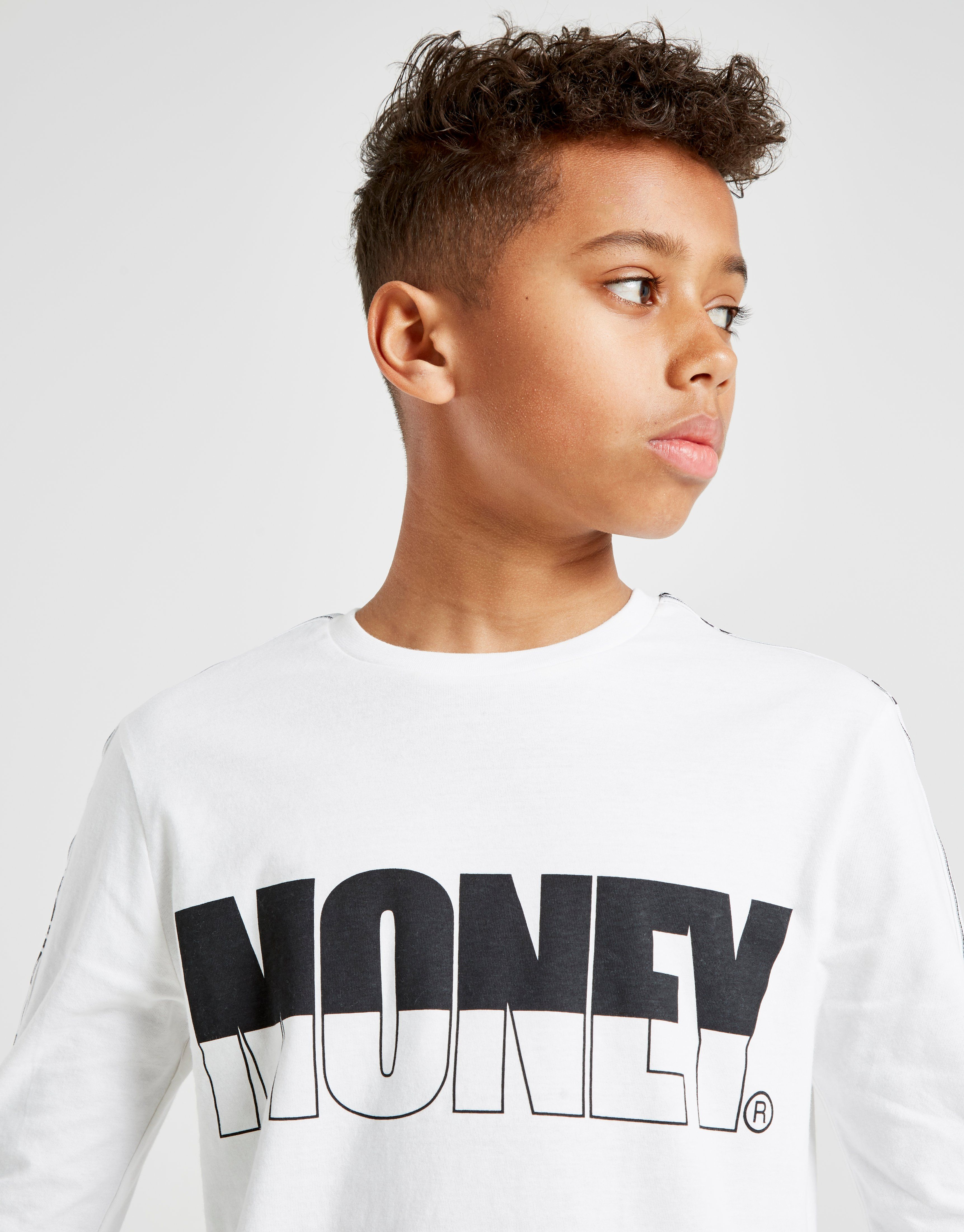 Money Clothing Tape Langarmshirt Kinder