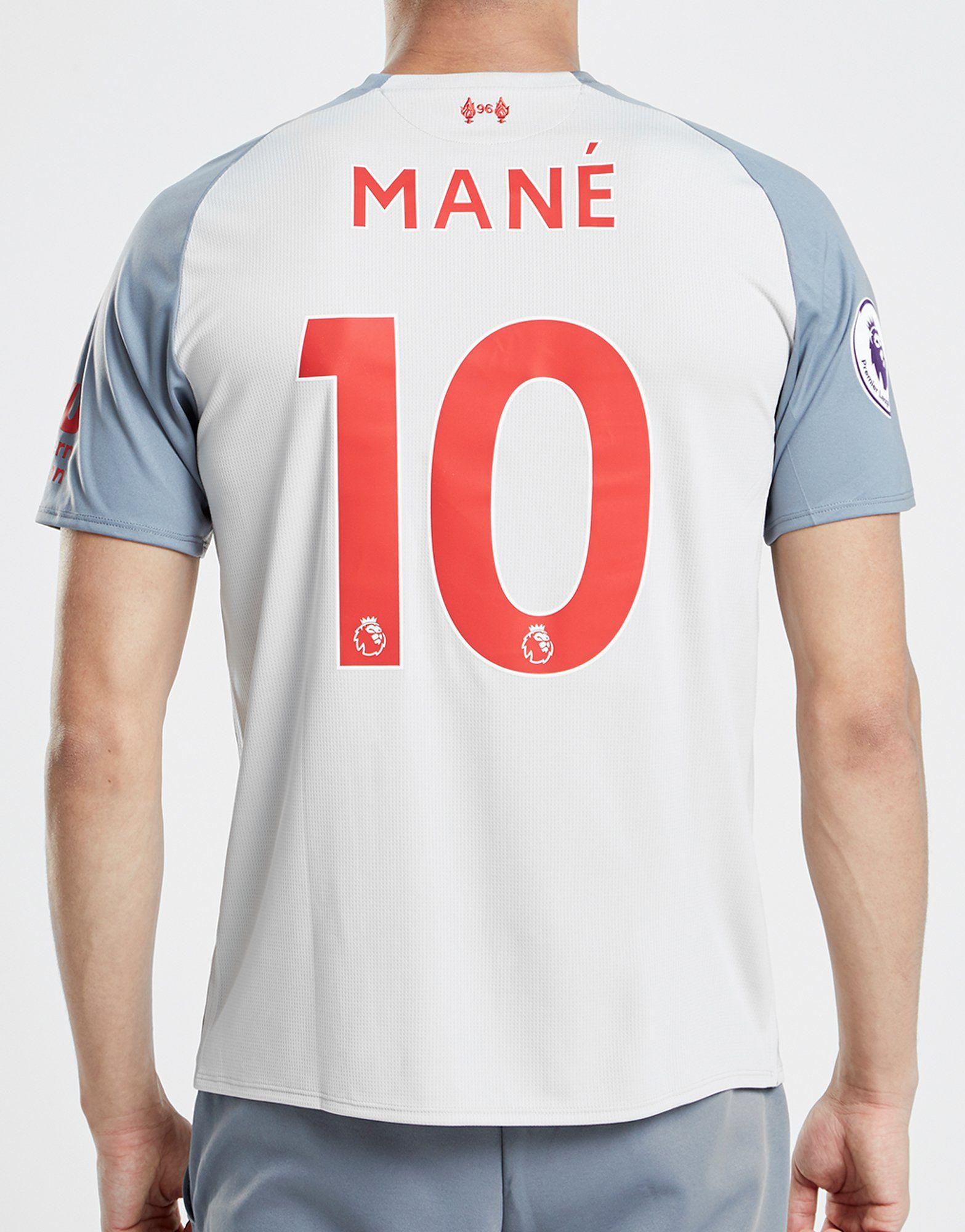 New Balance Liverpool FC 2018/19 Mane #10 Third Shirt