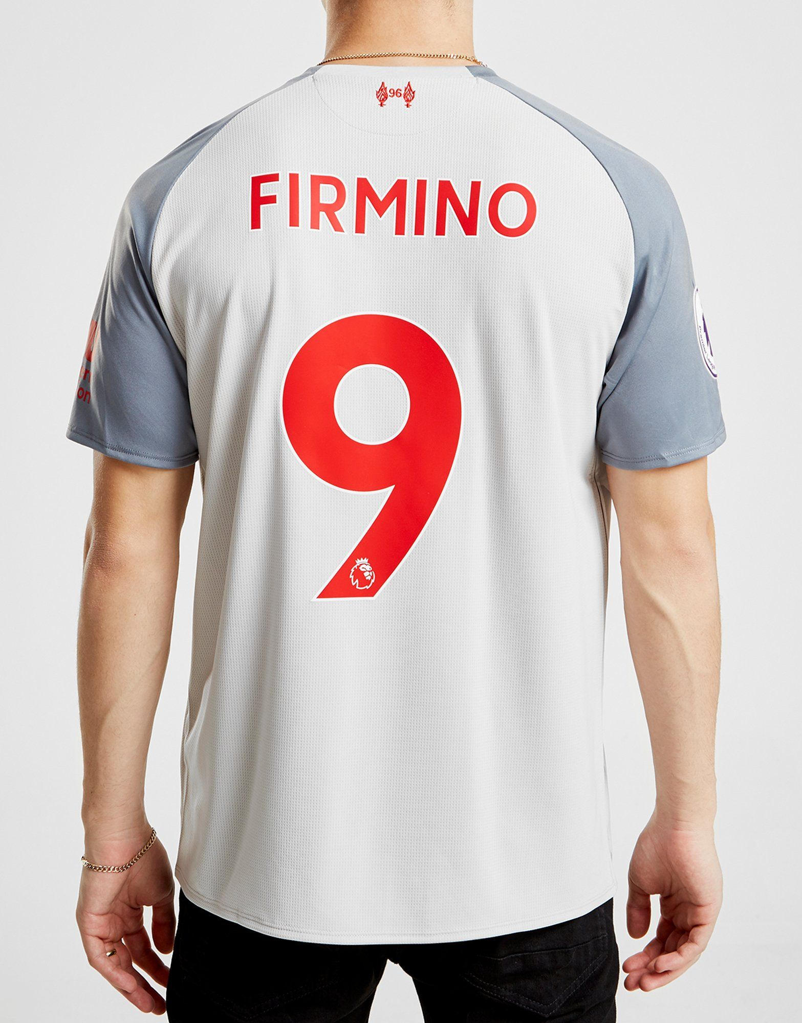 New Balance Liverpool FC 2018/19 Firmino #9 Third Shirt