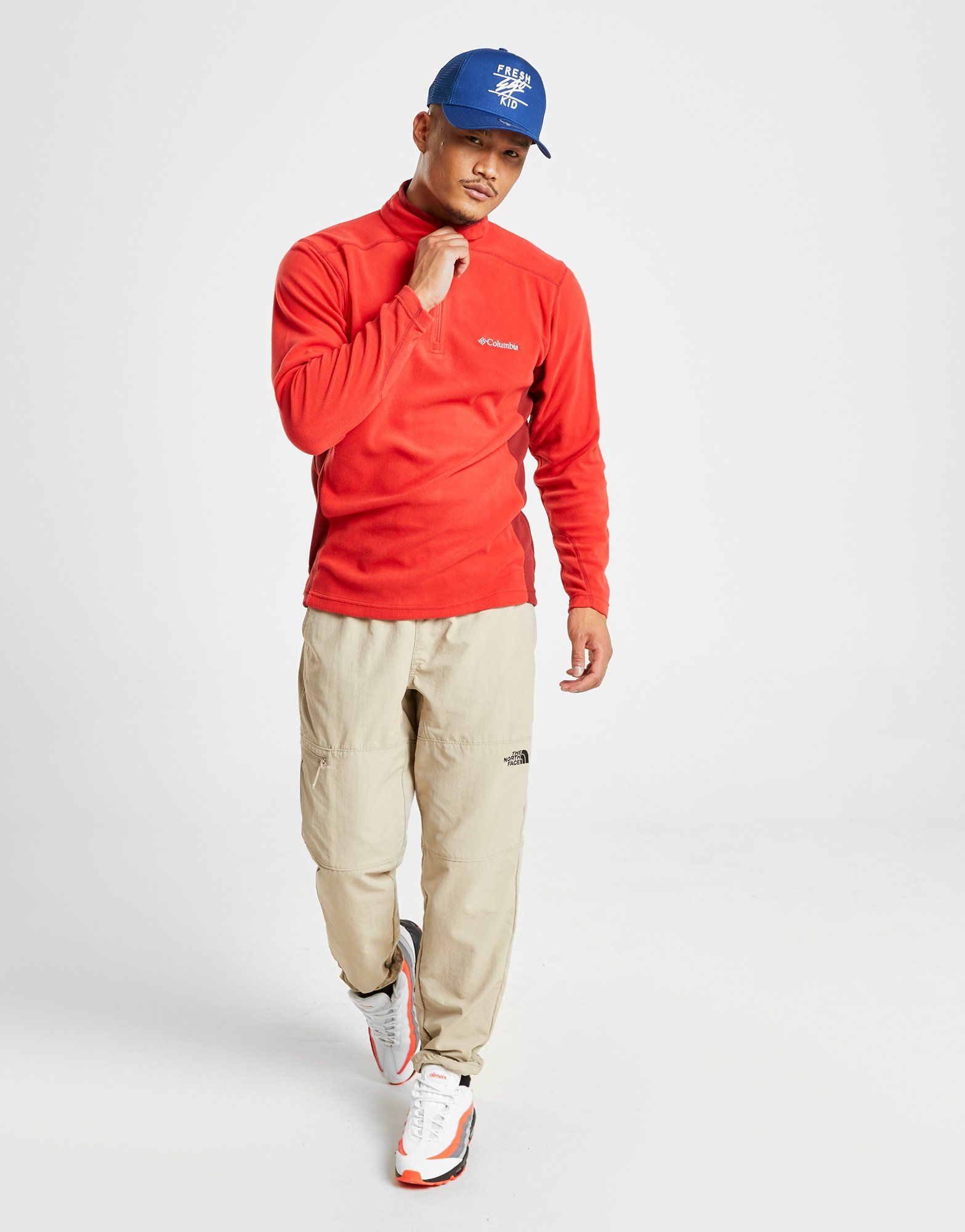 Columbia 1/4 Zip Micro Fleece Top