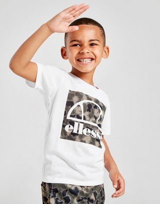 Ellesse Vios T-Shirt/Shorts Set Children