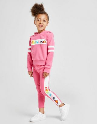 Ellesse Girls' Aglio Hooded Suit Children