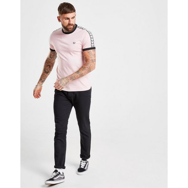 Fred Perry Taped Ringer T-Shirt Heren