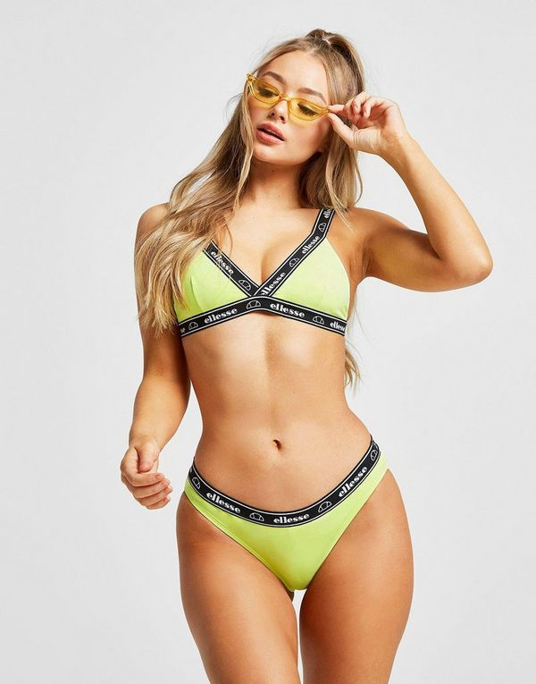 Ellesse Tape Bikini Bottoms Dames