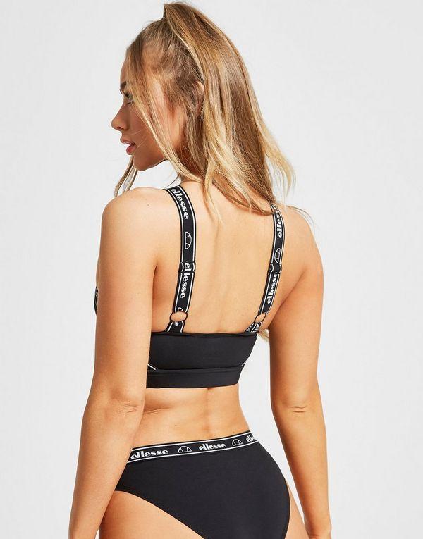 Ellesse Tape Cross Bikini Top