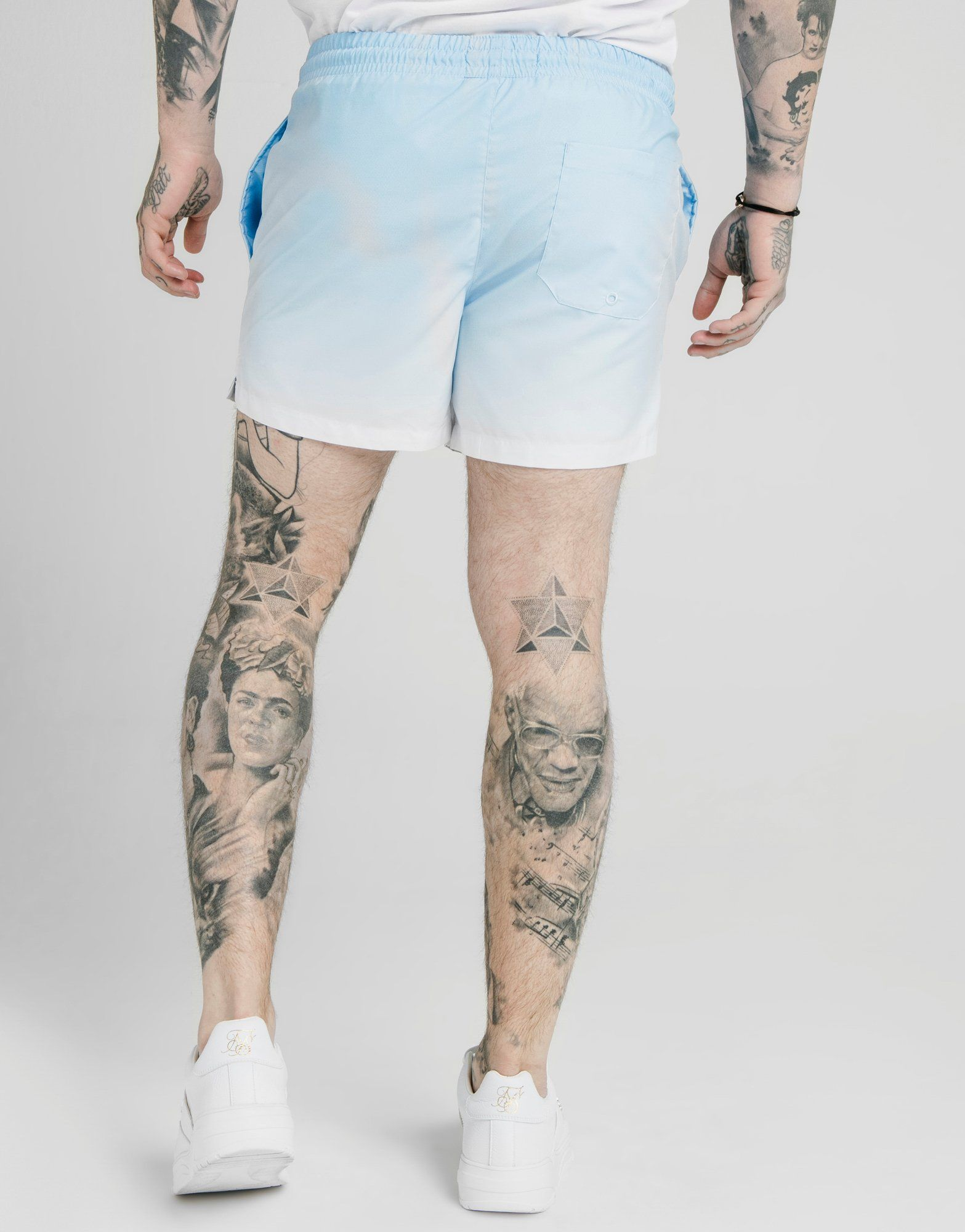 SikSilk Fade Swim Shorts