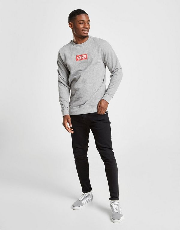 Vans Red Box Crew Sweatshirt Heren