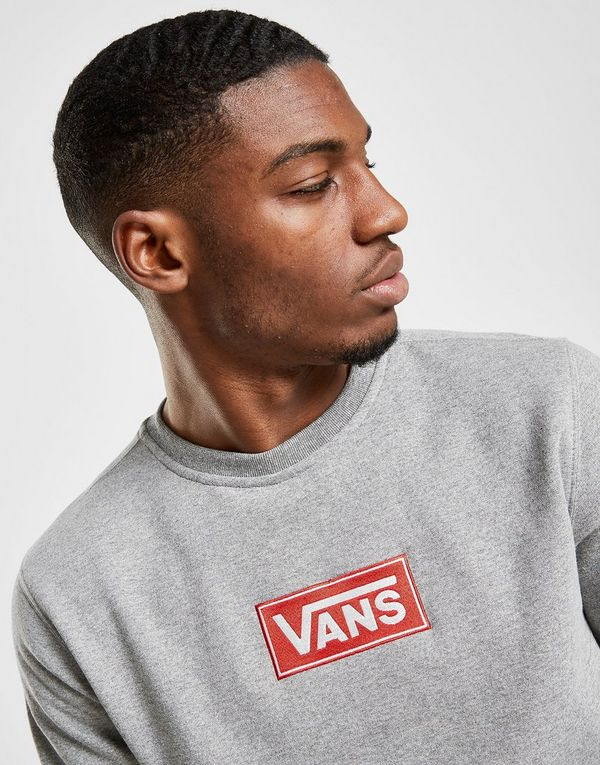Vans Red Box Crew Sweatshirt Heren