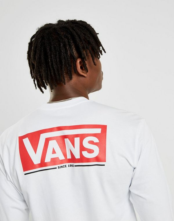 Vans Long Sleeve Back Logo Carter T-Shirt Heren